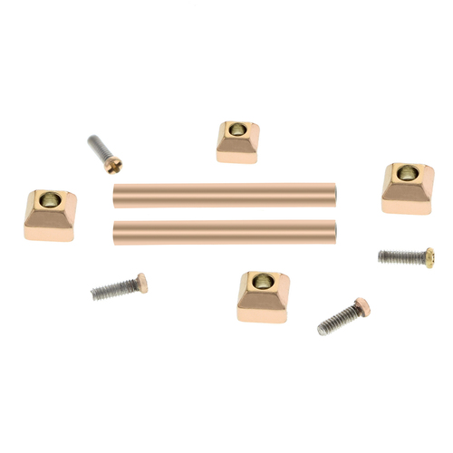 SCREW TUBE PIN FIT CARTIER PASHA LEATHER STRAP BAND BRACELET LUG FOR 18MM ROSE