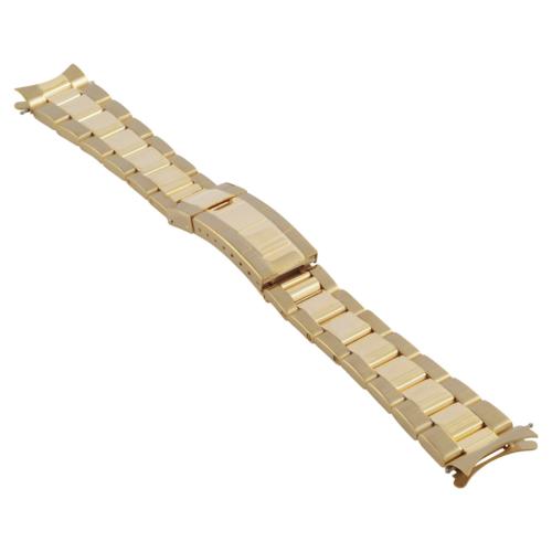 OYSTER WATCH BAND FOR ROLEX DAYTONA SUBMARINER GMT WATCH 20MM BRACELET GOLD GP