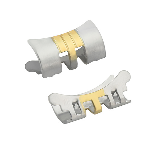 13MM END PIECE LINK FOR LADY JUBILEE WATCH BAND 26MM ROLEX DATE DATEJUST T/TONE