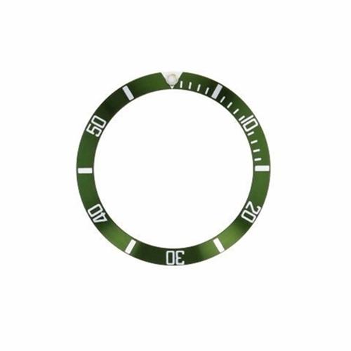 REPLACEMENT BEZEL INSERT GREEN FOR WATCH 36MM X 30MM