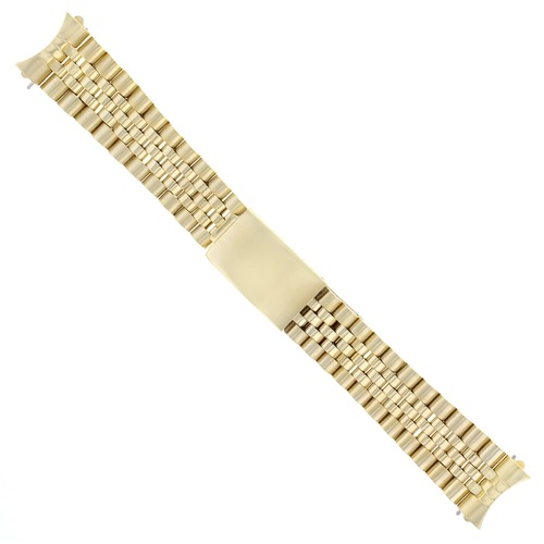 JUBILEE WATCH BAND MENS FOR 36MM ROLEX DATEJUST 16018 WATCH GOLD 20MM
