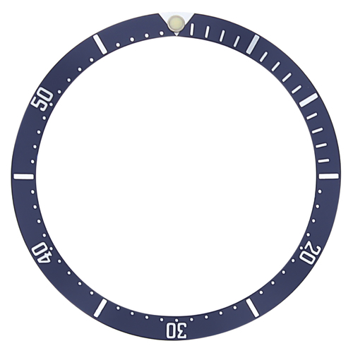 BEZEL INSERT FOR TUDOR PRINCE OYSTERDATE WATCH SUBMARINER 75190 75090 76000 BLUE