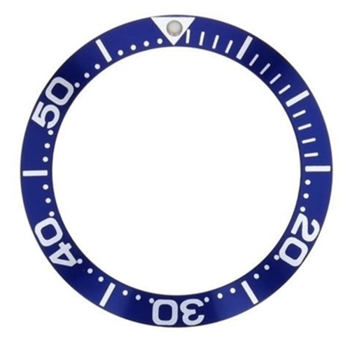 BEZEL INSERT FOR INVICTA 8928 PRO DIVER BLUE LARGE NUMBER SILVER FONT T/QUALITY