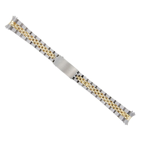 13MM 14K GOLD JUBILEE WATCH BAND FOR LADY ROLEX DATEJUST 79173 79174 TWO TONE