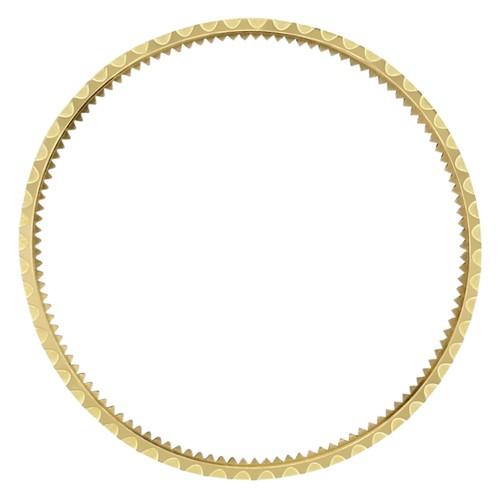 BEZEL & INSERT FOR ROLEX SUBMARINER 18KY REAL GOLD 16800 16610 16610LN BLACK