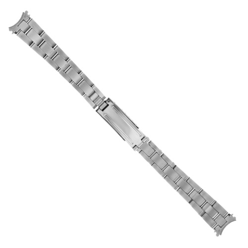 OYSTER WATCH BAND BRACELET SHINY/CENTER FOR 26MM ROLEX DATE DATEJUST LADY 13MM