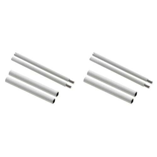 4 + 4 SCREW + TUBES FOR 44MM PANERAI 24MM RUBBER BAND LEATHER STRAPS-316L SWISS