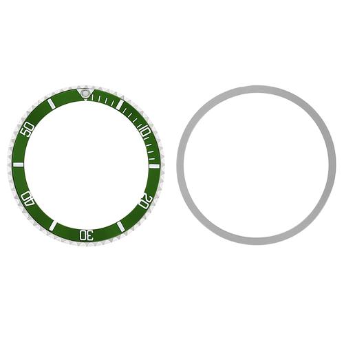 BEZEL & INSERT FOR TUDOR SUBMARINER PRINCE OYSTERDATE 79090 79190 GREEN