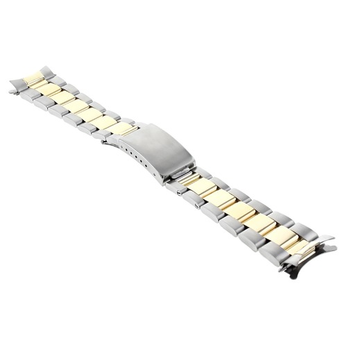 OYSTER WATCH BAND FOR 36MM ROLEX DATEJUST 1602 1603 1611 16013 16233 18K/SS 20MM