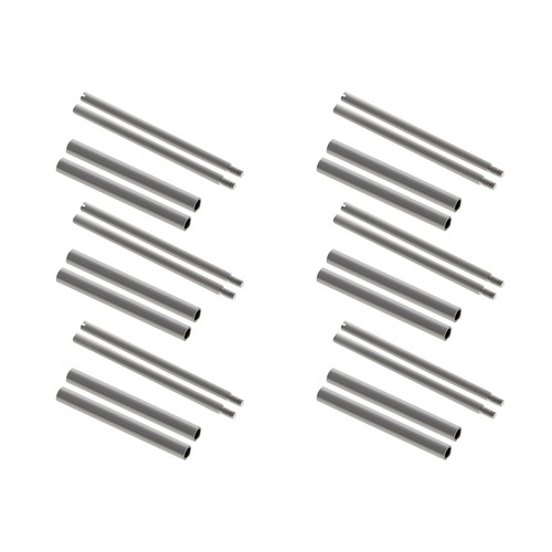 12 + 12 Screw  + Tubes  For 40Mm Panerai Pam Watch 22Mm Strap Parts