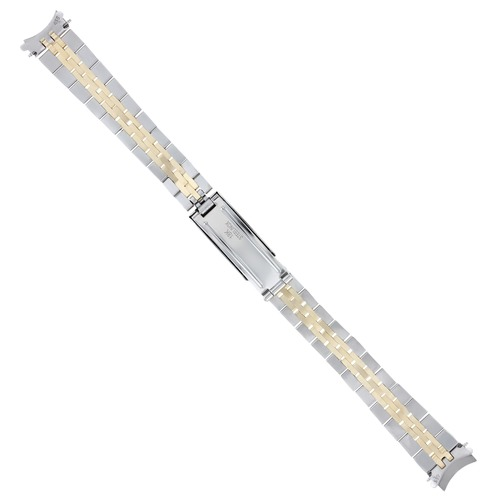 JUBILEE WATCH BAND FOR LADY 26MM ROLEX 6916, 6917, 69173 REAL GOLD 14K/SS 13MM