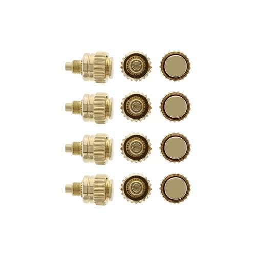 12 DAYTONA WATCH CROWN PUSHER FOR ROLEX YELLOW GOLD TOP QUALITY PART