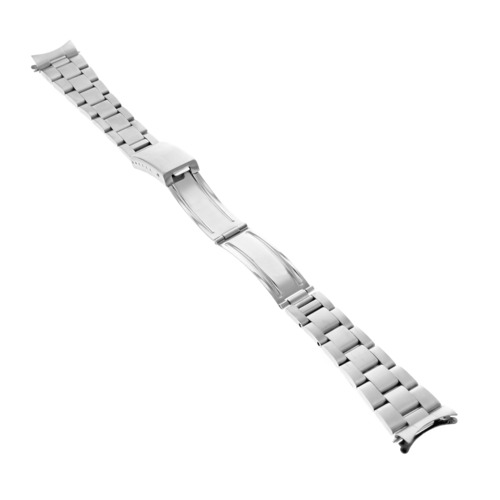 OYSTER WATCH BRACELET BAND STAINLESS STEEL FOR VINTAGE ROLEX AIR KING 5500 19MM