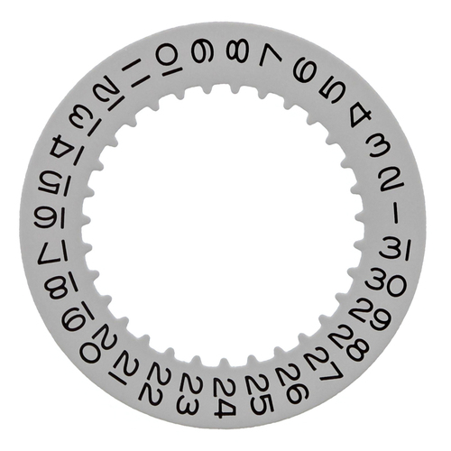 DATE DISC FOR ROLEX DATEJUST 15223,16233,16263 16600 16610 16613 3130/3135 GREY
