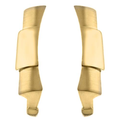 2 CUSTOM STRAP END LINK PIECE FOR ROLEX DAYTONA 116528 116518 116509 GOLD TOP QY