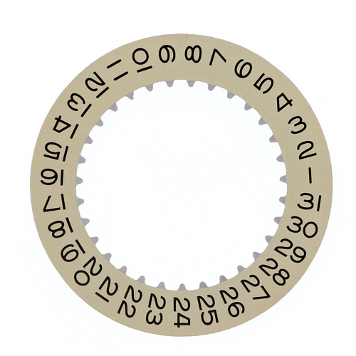 DATE DISC FOR ROLEX GMT II MASTER EXPLORER II 3175/3185 16570, 16700 CHAMPGNE