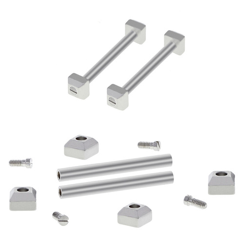 3 SET SCREW,TUBES PIN BLOCK SET FOR CARTIER PASHA WATCH STRAP BAND BRACELET 18MM