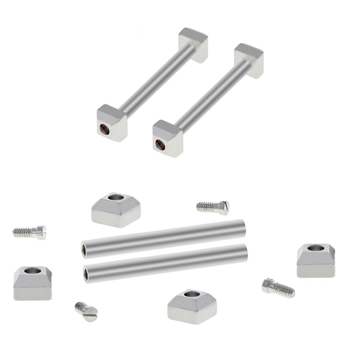 3 SET SCREW,TUBE PIN,BLOCK FOR CARTIER PASHA STRAP BAND BRACELET BAND FIT 17MM 1