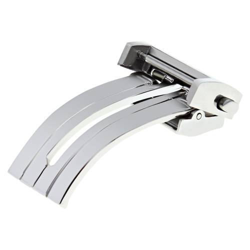 20MM DEPLOYMENT BAND BUCKLE CLASP STRAP FOR TAG HEUER CARRERA BRUSH STAINLESS