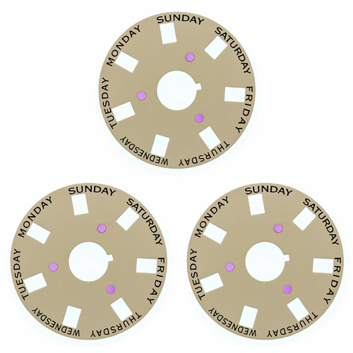 3 DAY DISC FOR ROLEX 3055 PRESIDENT 18028 18029 18038 18039 18048 18049 CHAMPAGNE