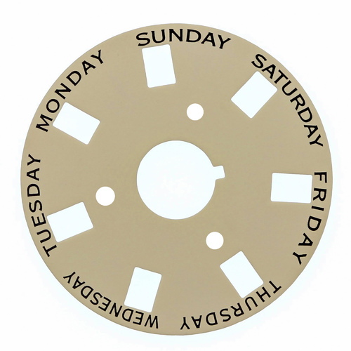 3 DAY DISC FOR ROLEX 3055 PRESIDENT 18028 18029 18038 18039 18048 18049 CHAMPGNE