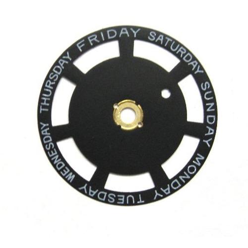 DAY DISC FOR TUDOR 74710 74613 76213 WATCH  MOVEMENT ETA 2834-2, 2836-2 BLACK