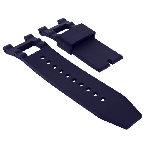 RUBBER WATCH BAND STRAP FOR INVICTA SUBAQUA NOMA III 1149 1150 5512 15798 BLUE