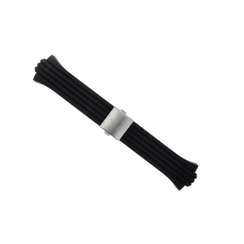 26MM RUBBER DIVER STRAP BAND FOR ORIS 733-7653-4154RS WATCH 43MM CASE 26MM/13MM