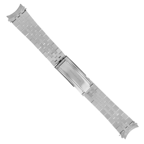 19MM JUBILEE WATCH BAND BRACELET FOR ROLEX AIR KING 1500, 5500 HEAVY STAINLESS