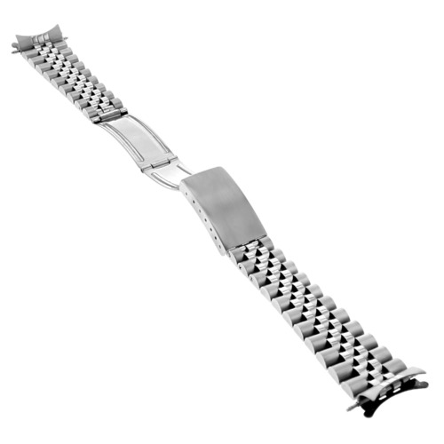 JUBILEE WATCH BAND BRACELET STAINLESS STEEL FOR MEN ROLEX 20MM HEAVY TOP QUALITY