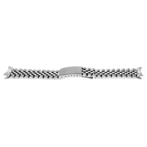 19MM JUBILEE WATCH BAND  FOR 34MM ROLEX DATE BRACELET STEEL HEAVY TOP QUALITY