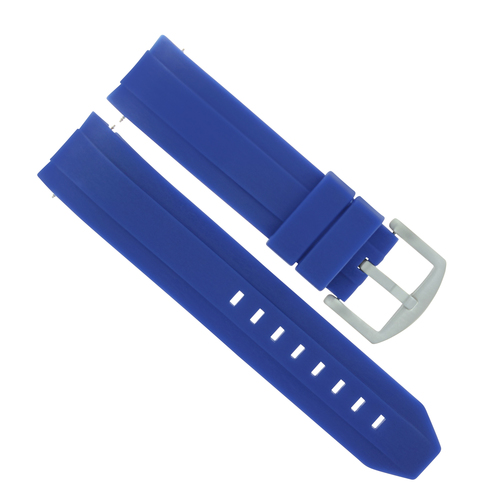 22MM SILICONE RUBBER WATCH STRAP BAND BRACELET FOR ORIENT BLUE RAY II AA02005D