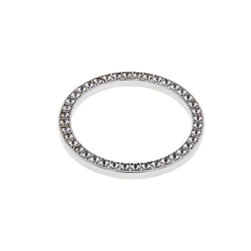 BEZEL FOR DIAMOND 31MM ROLEX MIDSIZE JUNIOR 6824 67480 178274 STAINLESS STEEL
