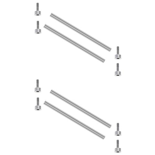 2 SET BAR & SCREW BAR  FOR BELL & ROSS BR-03-92 03-94 RUBBER STEEL BAND STEEL