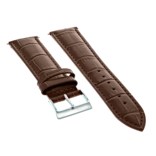 18MM ITALIAN LEATHER WATCH BAND STRAP FOR ROLEX CELLINI WATCJ LIGHT BROWN