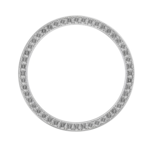 DIAMOND BEZEL FOR ROLEX MEN PRESIDENT DAYDATE 1802 1803 18038 STAINLESS STEEL