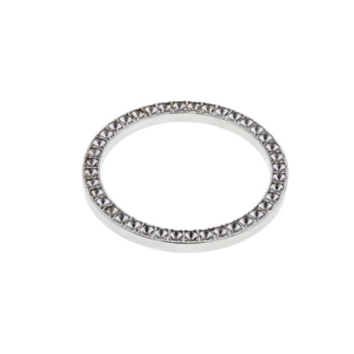 BEZEL FOR DIAMOND 26MM  ROLEX LADY DATEJUST 6517 6917 6719 69173 WATCH ST.STEEL