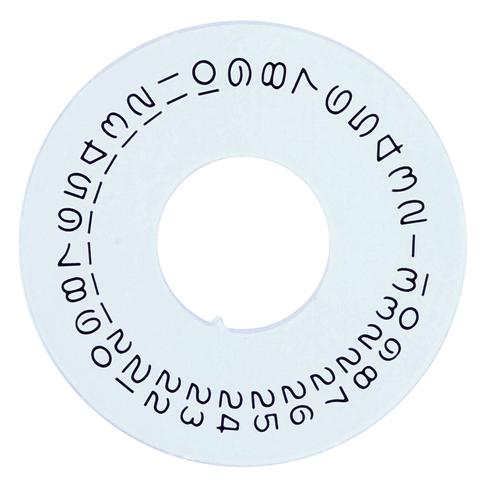 DATE DISC FOR ROLEX PRESIDENT DAY DATE 1801 1802 1803 1805 1811 1812 1815 SWISS
