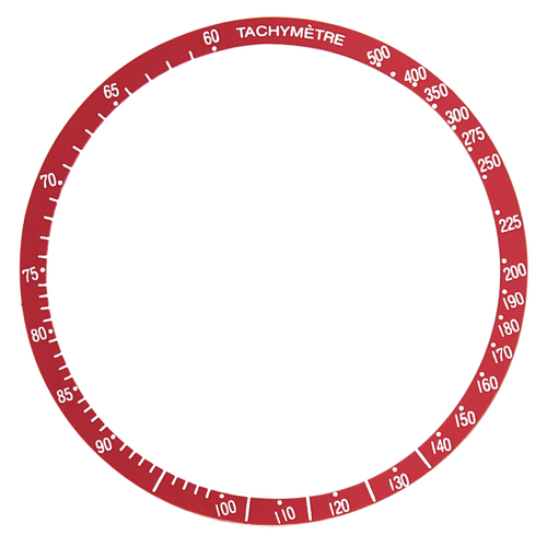 BEZEL INSERT FOR OMEGA SPEEDMASTER 321,145.022,145.012,321 145.022 145.012 RED