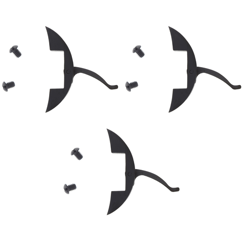 3 CROWN GUARD FOR PANERAI PAM 111 LUMINOR MARINA 44MM BLACK PVD STAINLESS STEEL