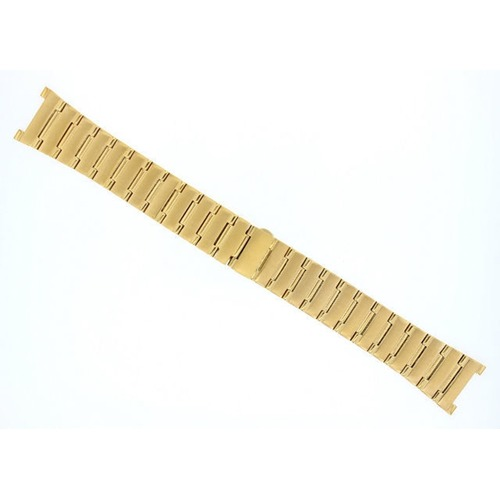 22MM WATCH BAND BRACELET FOR OMEGA CONSTELLATION GOLD COLOR #1
