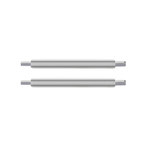2-22MM SWISS STAINLESS SPRING BARS FOR PAM 40MM PANERAI 22MM TUBE
