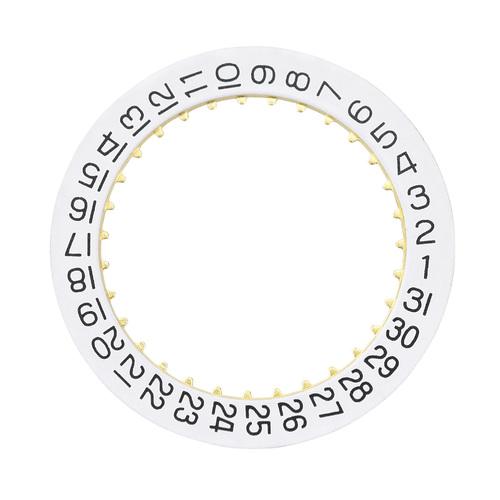 DATE CALENDAR DISC FOR MOVEMENT ETA 2893-2, 2892-A2/W WATCH WHITE