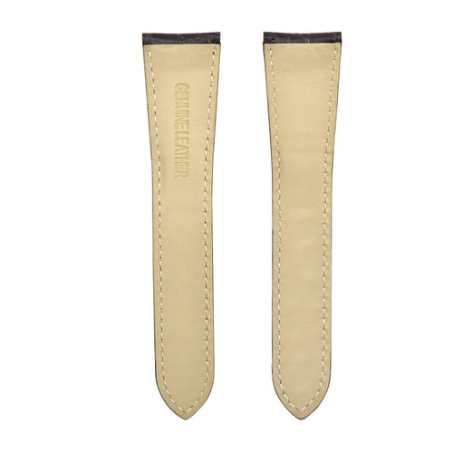 23MM LEATHER STRAP BAND FOR 31MM CARTIER TANK SOLO XL W5200028  507084 BROWN