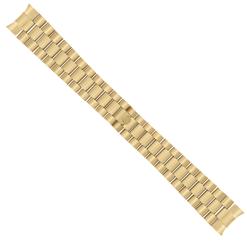 20MM 18K GOLD PRESIDENT WATCH BAND FOR 36MM ROLEX DAY DATE 1801 1802 1803 1805