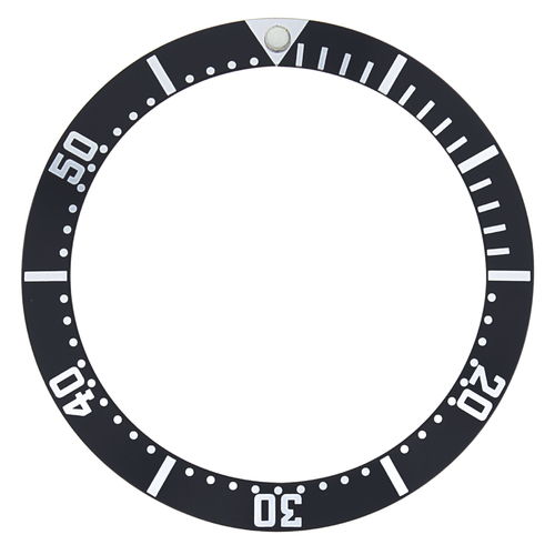 BEZEL INSERT FOR OMEGA MIDSIZE WATCH CHRONOMETER 2552.20 PROFESSIONAL AUTO BLACK