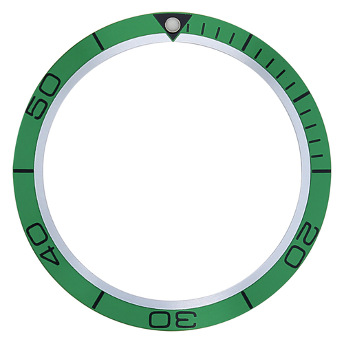 BEZEL INSERT FOR 45.5MM OMEGA SEAMASTER PLANET OCEAN WATCH GREEN TOP QUALITY