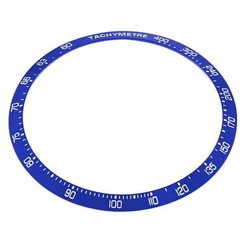 REPLACEMENT BEZEL INSERT BLUE FOR WATCH 40.90MM 35.30MM