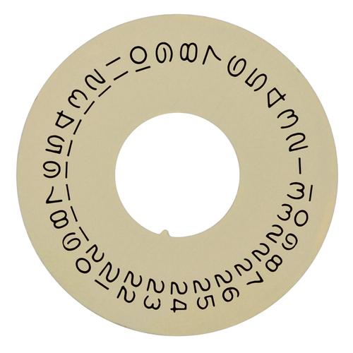 CALENDAR DATE DISC FOR ROLEX PRESIDENT DAYDATE 1801 1802 1803 1805 1811 CHAMPAGNE