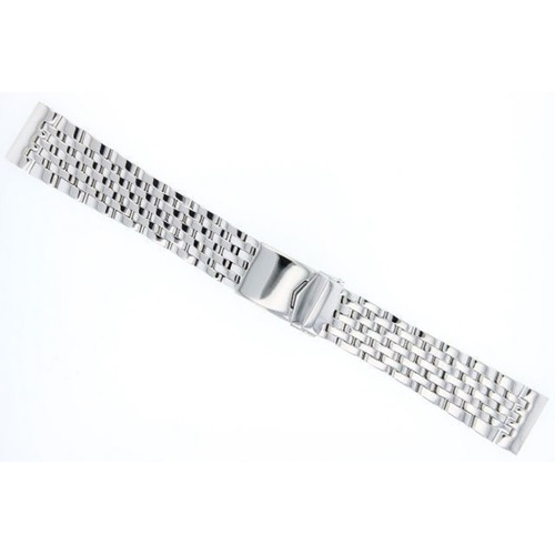 22MM WATCH BAND BRACELET STAINLESS ST FOR BREITLING EMERGENCY 7 LINK POLISH